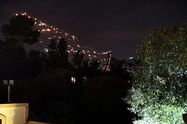 Night Mountains Palermo