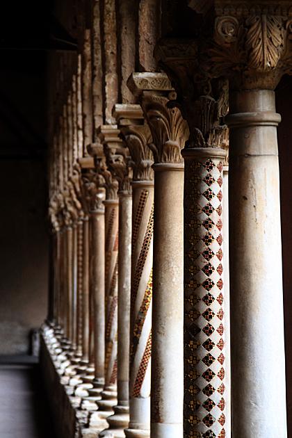 Mosaic Columns Monreale