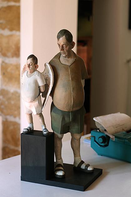 Sculptor-Daniele-Franzella
