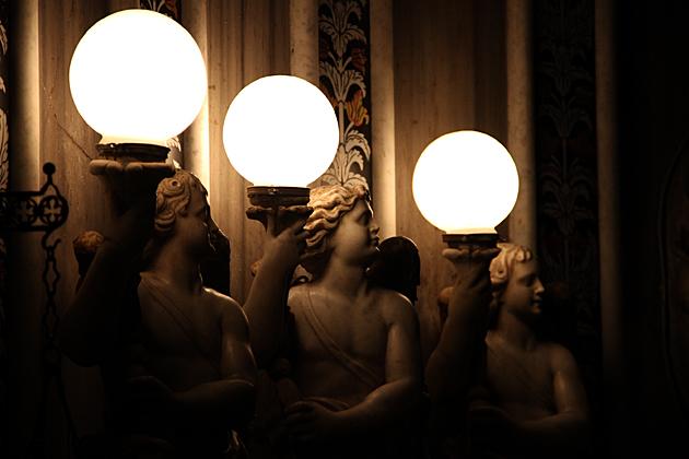 Angel Boy Lamps