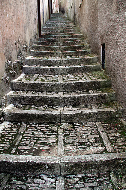 Old Stairs Sicily