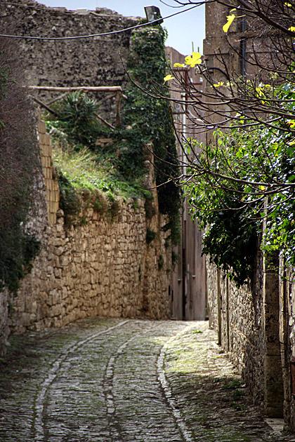 Streets Erice