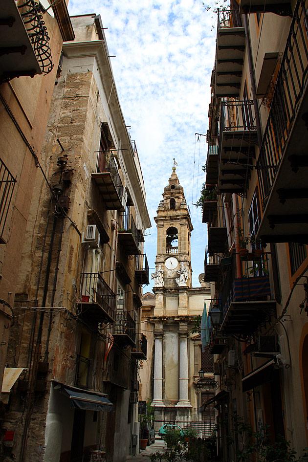 Postcards Palermo Sicily