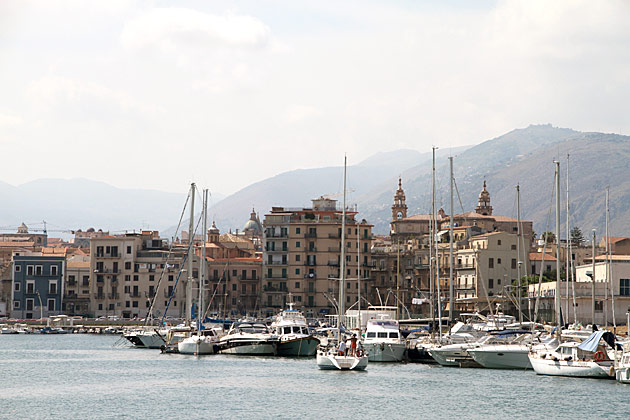 Yachts in Palermo