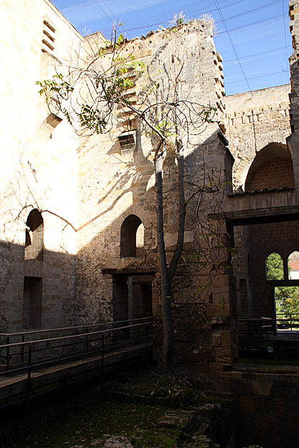 Inside Garden Palace