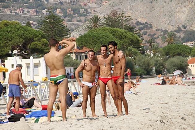 Italian Guys Beach