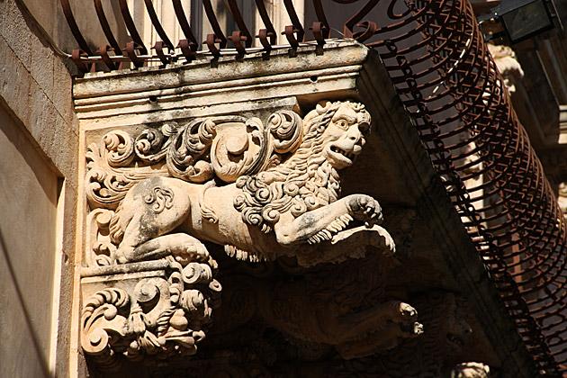 Lion Balcony