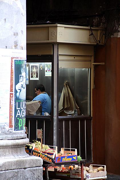 Street Kiosk Palermo