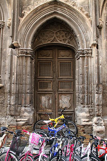 Biking in Palermo