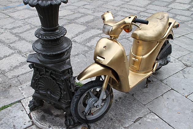 Golden Moped