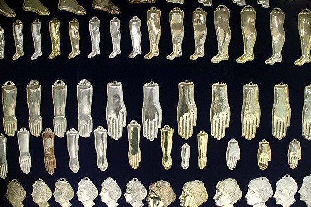 Golden Body Parts
