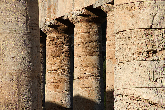 Columns Segesta Sicily