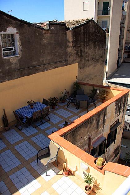 Terrace Rent Palermo Apartment