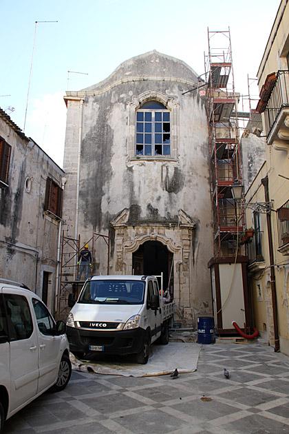 Fixing Churches Sicilia