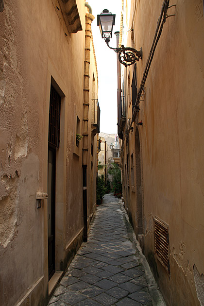 Very Small Street Sicily
