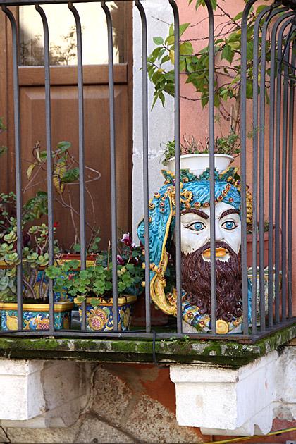 Sicilian-Ceramic-Head