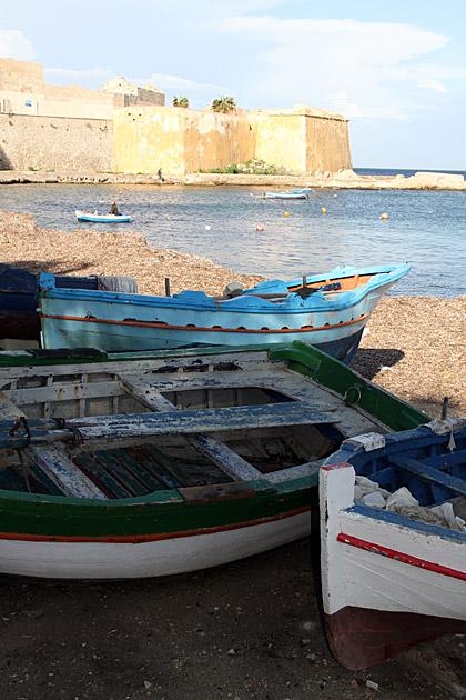 Sicilian Fisher Boat