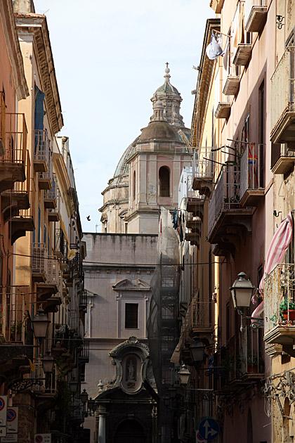 Street of Trapani
