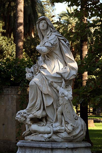 Statues Palermo Sicily