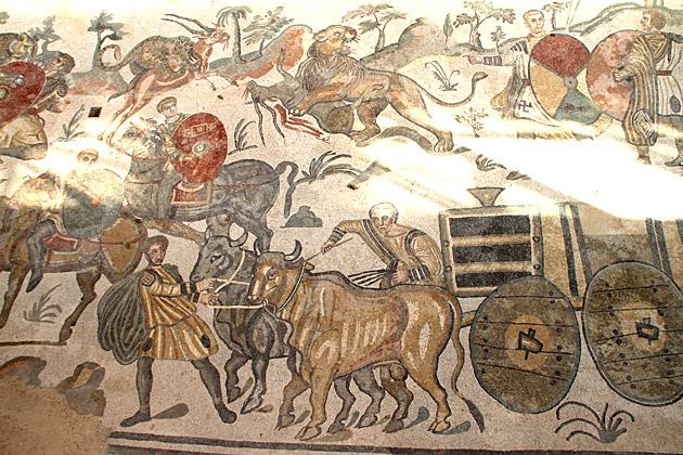 Famous Mosaics Sicily