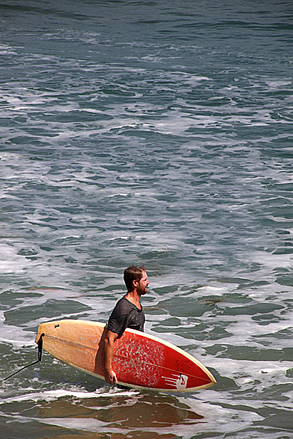 Surfing in Arugam Bay