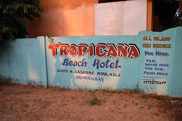 Tropicana Beach Hotel Arugam Bay