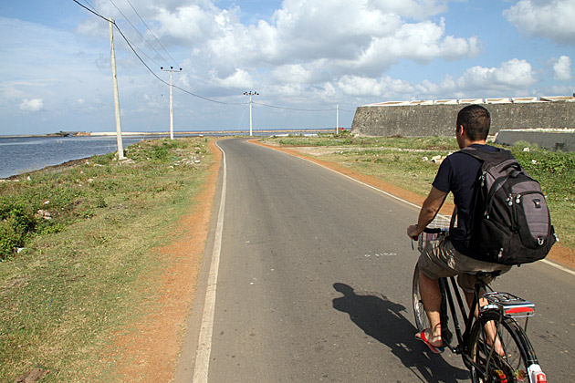 Biking in Jaffna