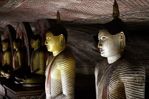 Buddha Cave Statues
