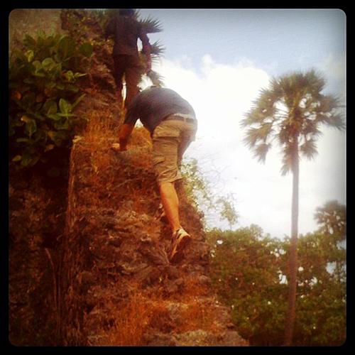 Climbing On Ruins