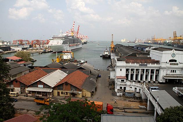 Sri Lanka Colombo Habor
