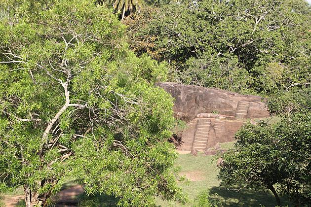 Stone Stairs Sri Lanka