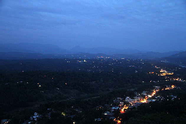 Night in Kandy