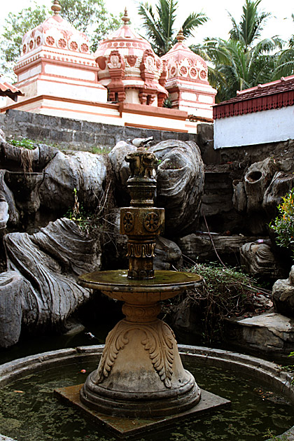Buddhist Fountain