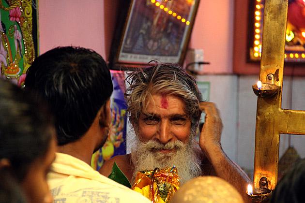 Handsome Hindu Monk