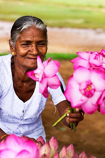 Offering Flowers