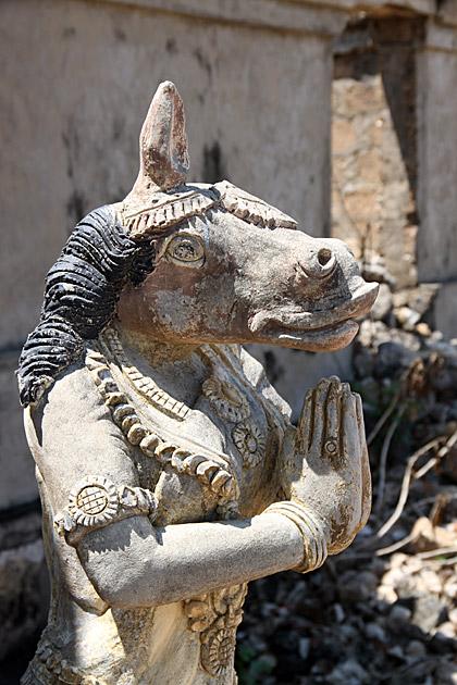 Weird Hindu God