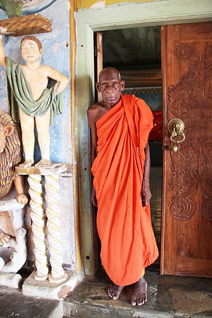Mihintale-Monk