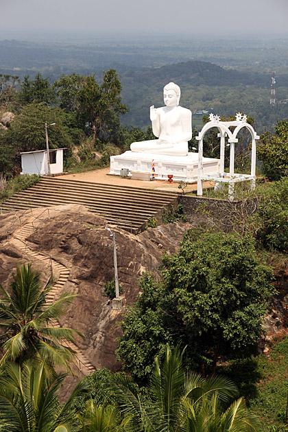 White-Buddha-Mihintale