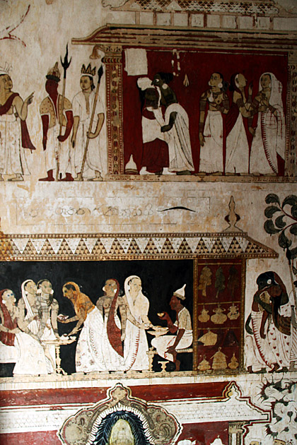 Mulkirigala-Wall-Paintings
