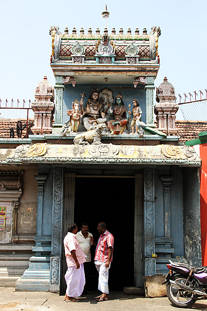 Hindu Temple in Sri Lanka