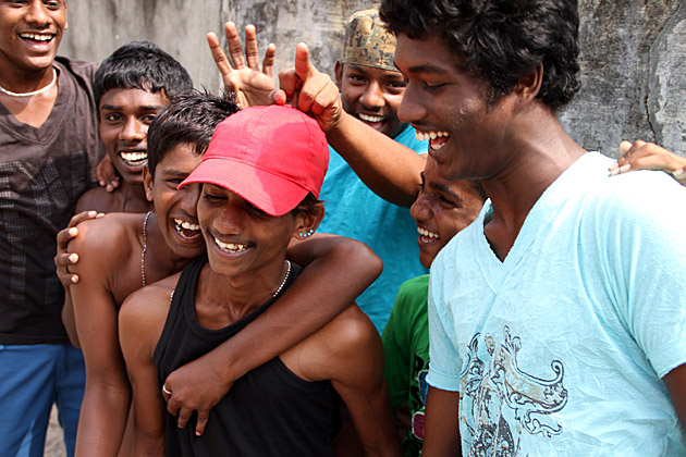 Teens in Sri Lanka