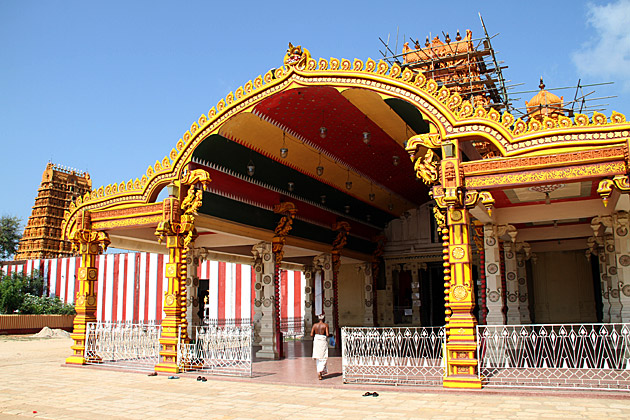 Kovil Entrance Jaffna
