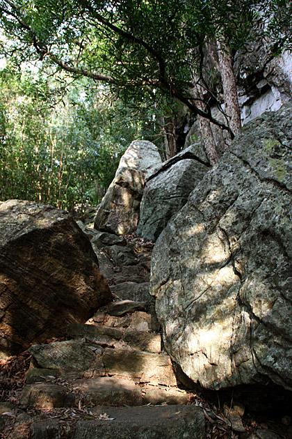 Hiking in Sigiriya