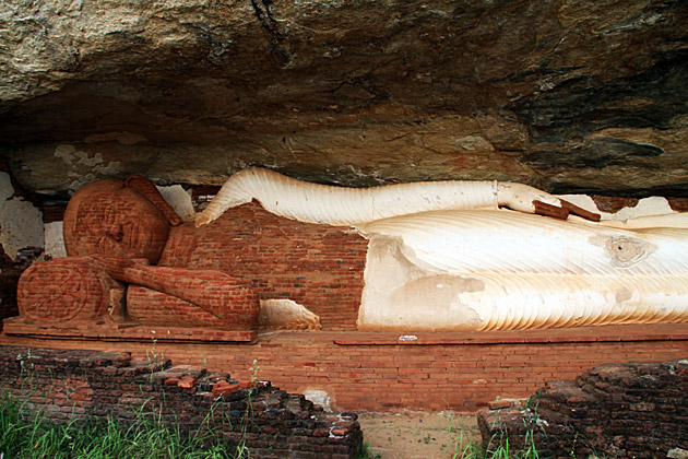 Pidurungala-Buddha