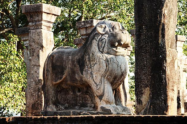 Lion-Polonnaruwa