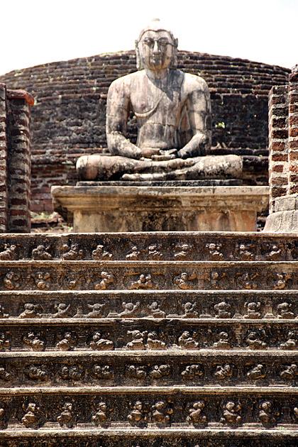Half Covered Buddha