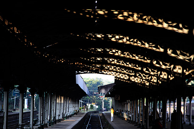 Train Station in Kandy