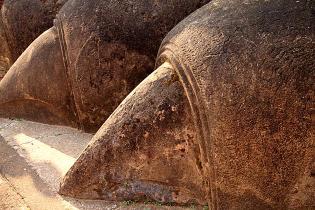 Lion Claws Sigiriya Rock
