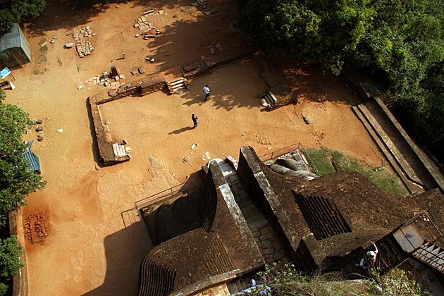 Sigiriya Fort Entrance