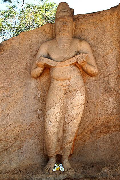 Polonnaruwa King Statue